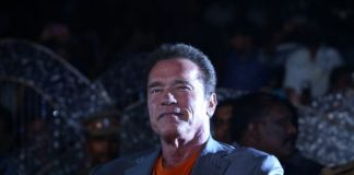Arnold Schwarzenegger promotes 'I' soundtrack in India – Photos
