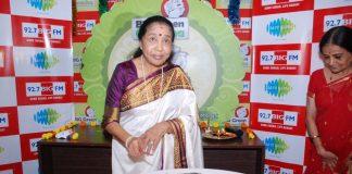 Asha Bhosle celebrates Ganesh Festival at BIG FM