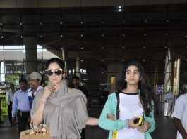 Sridevi and Asin return from SIIMA Awards