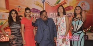 Daisy Shah, Sophie Chaudry and Gauhar Khan at Country Club New Year Bash Media Meet – Photos