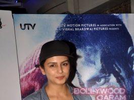 Huma Qureshi and Vidya Balan attend Haider special screening – Photos