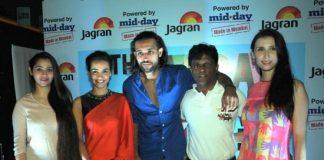 Desi Kattey actors attend Jagran Film Festival