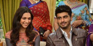Deepika Padukone and Arjun Kapoor on Yeh Hai Mohabbatein sets – Photos