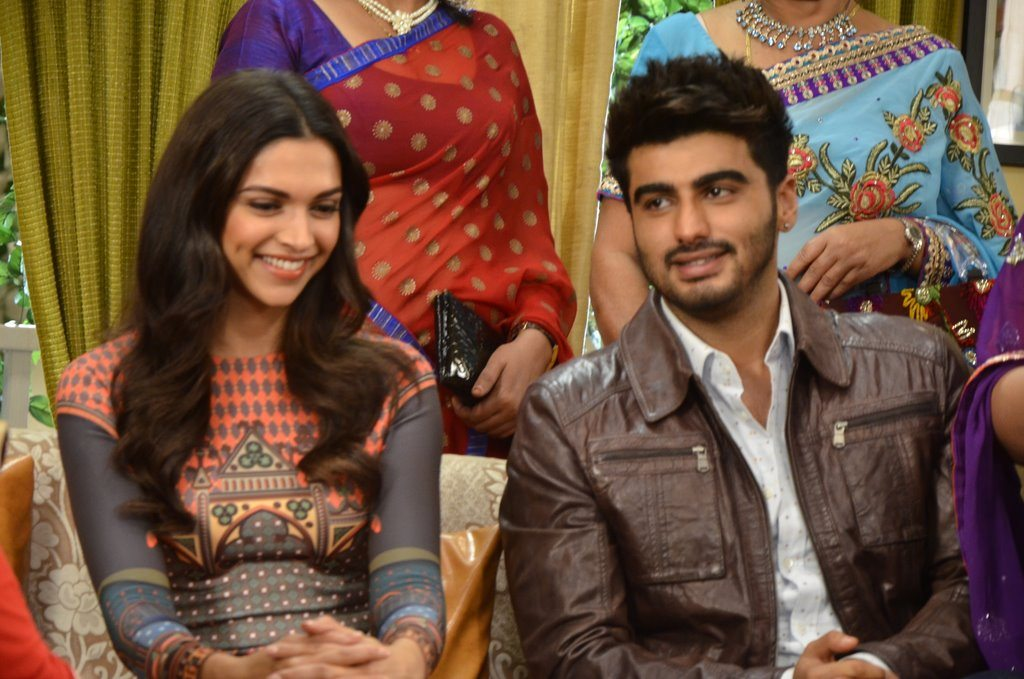 eepika Padukone and Arjun Kapoor promote on Yeh Hai Mohabbatein