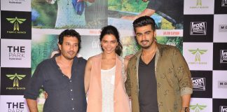 Arjun Kapoor and Deepika Padukone promote 'Finding Fanny' in Hyderabad – Photos