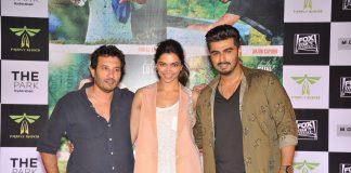 Arjun Kapoor and Deepika Padukone promote 'Finding Fanny' in Hyderabad – Photos