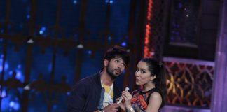 Shraddha Kapoor and Shahid Kapoor promote Haider on Cine Stars Ki Khoj