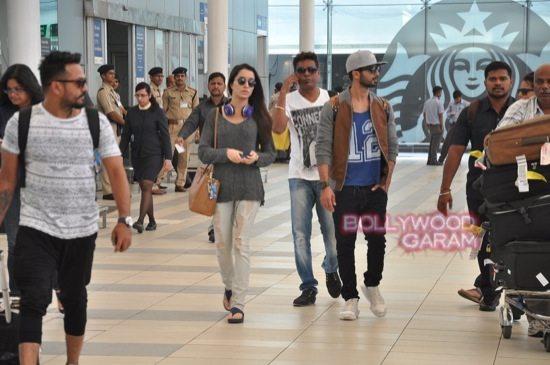 Haider stars at airport-1