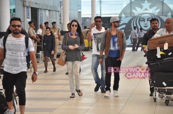 Haider stars at airport