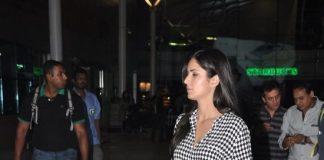 Hrithik Roshan and Katrina Kaif return from Bang Bang promotions in Delhi
