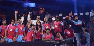 Abhishek Bachchan's Jaipur Pink Panthers win Pro Kabaddi League – Photos