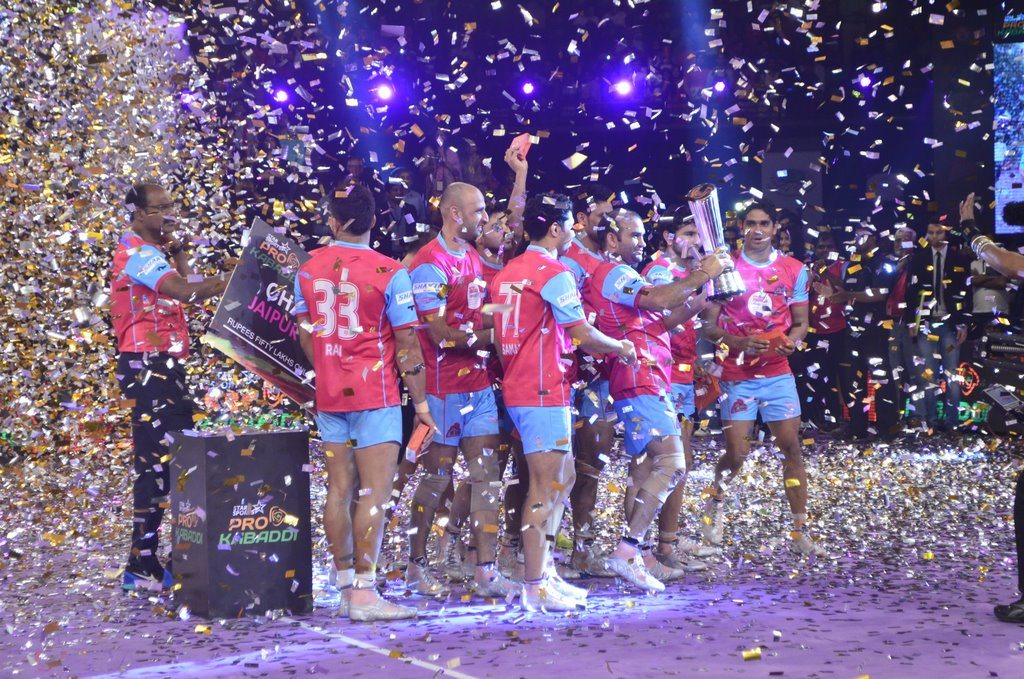 Kabaddi league winners (18)