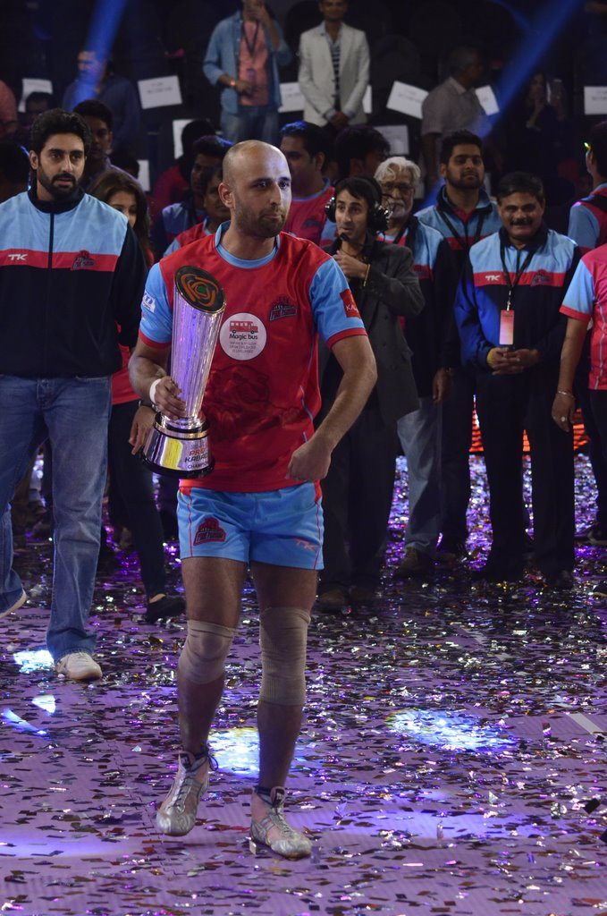 Kabaddi league winners (3)