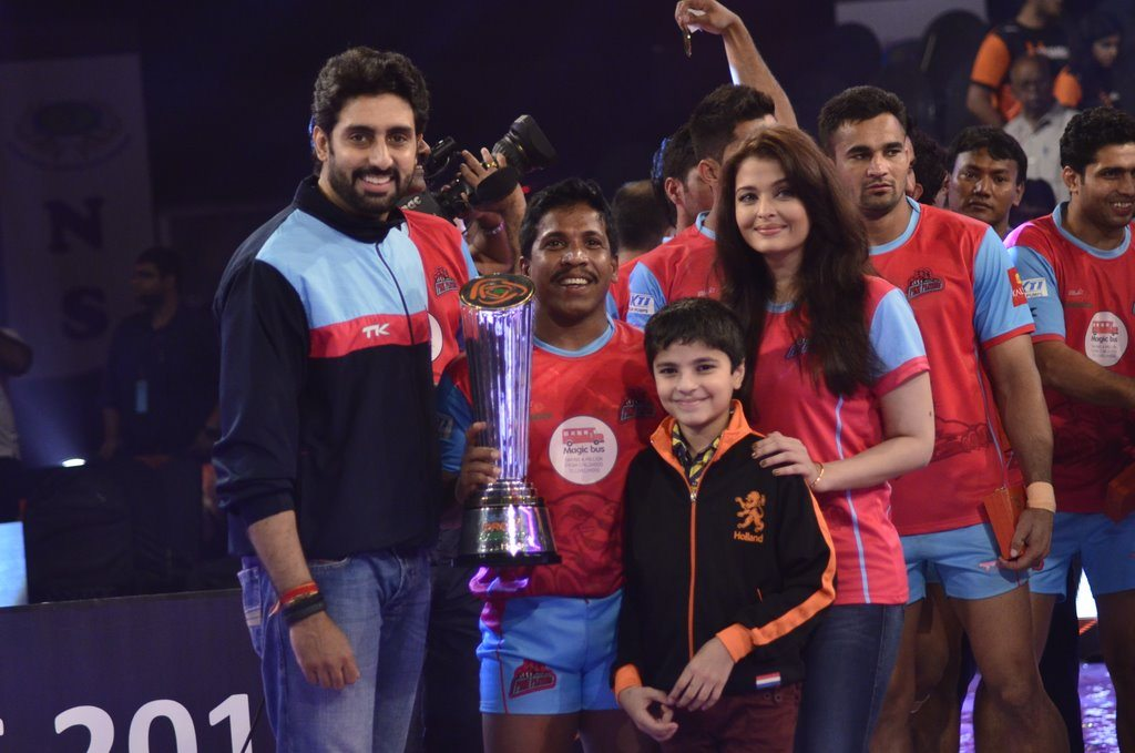 Kabaddi league winners (5)