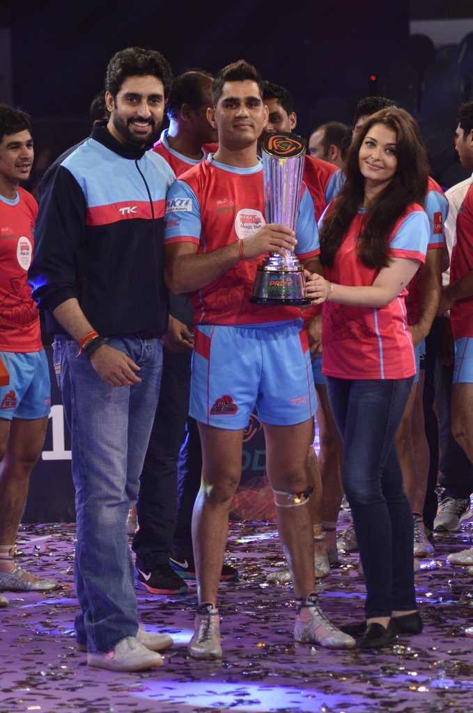 Kabaddi league winners (6)