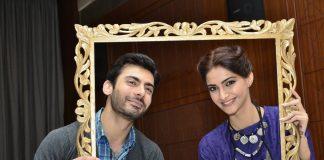 Sonam Kapoor and Fawad Khan promote Khoobsurat