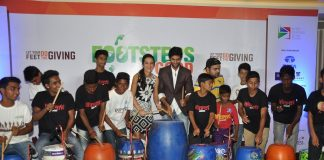 Kunal Kapoor, Tara Sharma and Purab Kohli at Footsteps4Good fundraiser