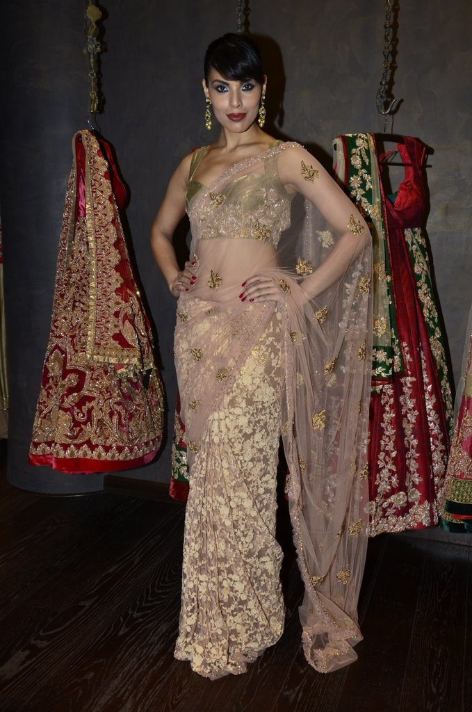 Dia Mirza at store launch