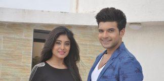 Karan Kundra and Kritika Kamra on MTV Webbed shoot