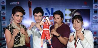 Priyanka Chopra and Mary Kom promote in Delhi