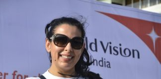 Pooja Bedi attends World Vision Walkathon for nutrition 2014