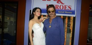 Shakti Kapoor and Anup Jalota at Dhansu Heroes mahurat ceremony