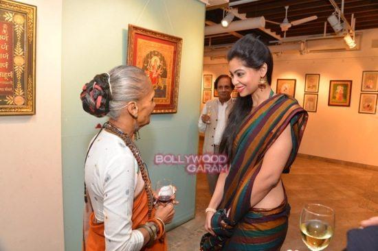 Rani Mukerji at art exhibition launch-11