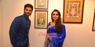 Rani Mukerji inaugurates Suviga Sharma's art exhibition