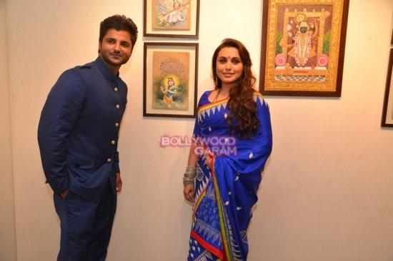Rani Mukerji at art exhibition launch-5
