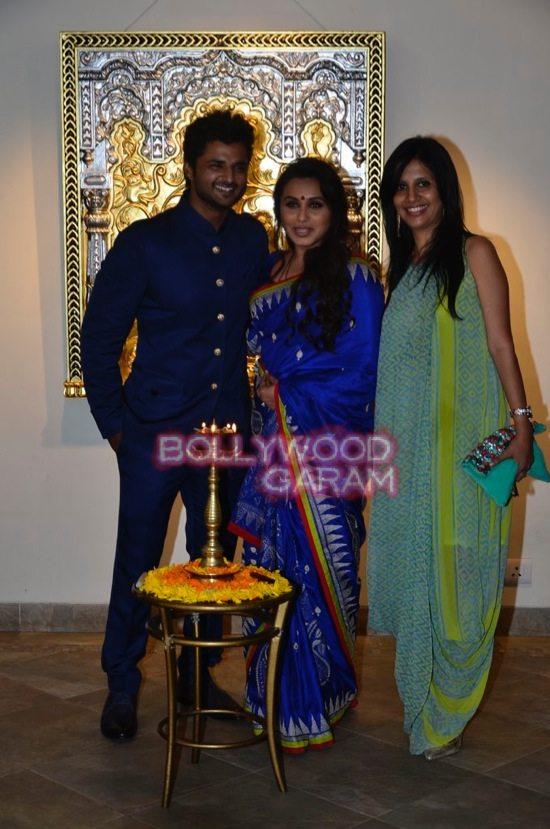 Rani Mukerji at art exhibition launch-7