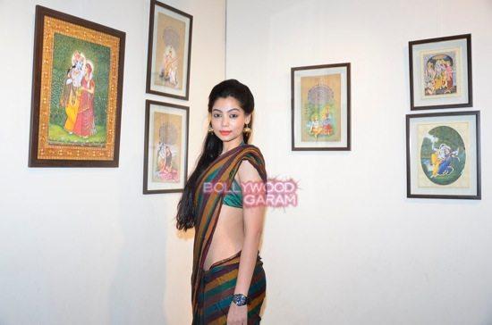 Rani Mukerji at art exhibition launch