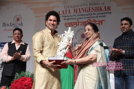 Sachin Tendulkar Lata Mangeshkar birthday-1