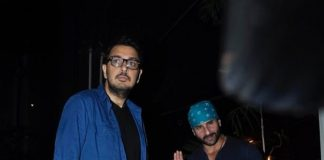 Saif Ali Khan, Kareena Kapoor, Riteish Deshmukh and Genelia at Nido restaurant