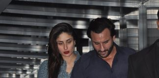 Saif Ali Khan and Kareena Kapoor seen in Bandra