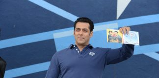 Salman Khan at Dr. Cabbie music launch event in Canada
