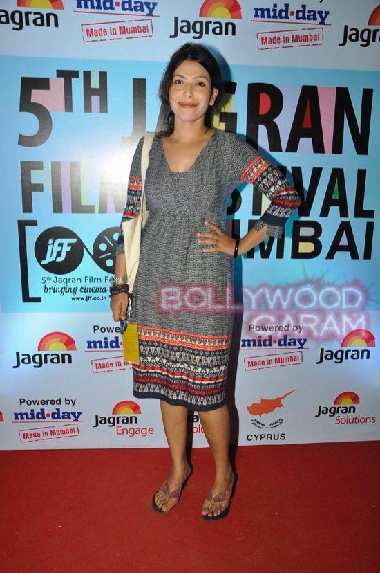 Shilpa_Rajat Kapoor_Jagran film festival