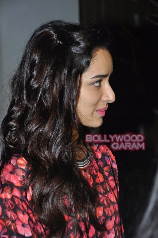 Shraddha Kapoor and Shahid Kapoor at Haider screening-5
