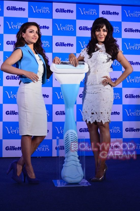 Soha and Chitrangada at Gillette Venus event-15