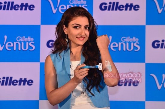 Soha and Chitrangada at Gillette Venus event-8