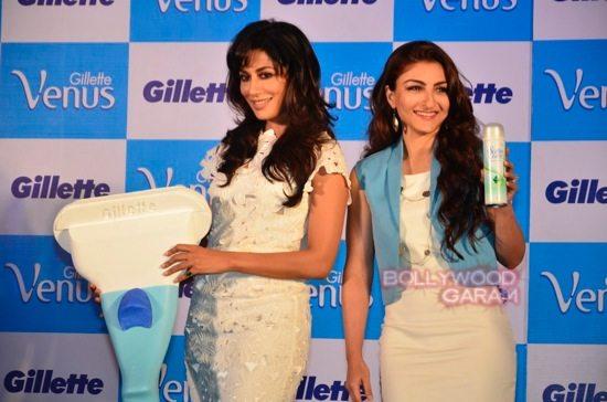 Soha and Chitrangada at Gillette Venus event17
