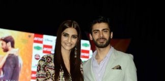 Sonam Kapoor and Fawad Khan attend Sangam event to promote Khoobsurat