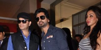 Mohit Chauhan and Nikhil Dwivedi at Times Glitter event