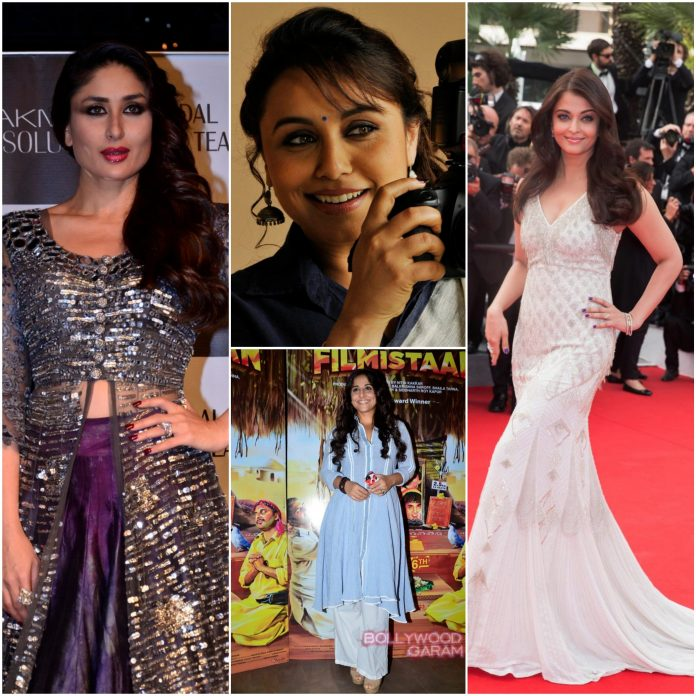 Top married bollywood actresses collage