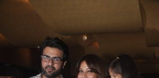 Bipasha Basu and Harman Baweja watch Creature 3D with family