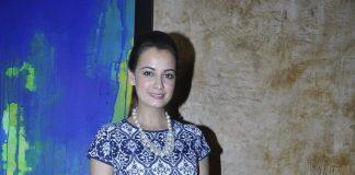 Dia Mirza at Jaya Lamba Art Exhibition launch