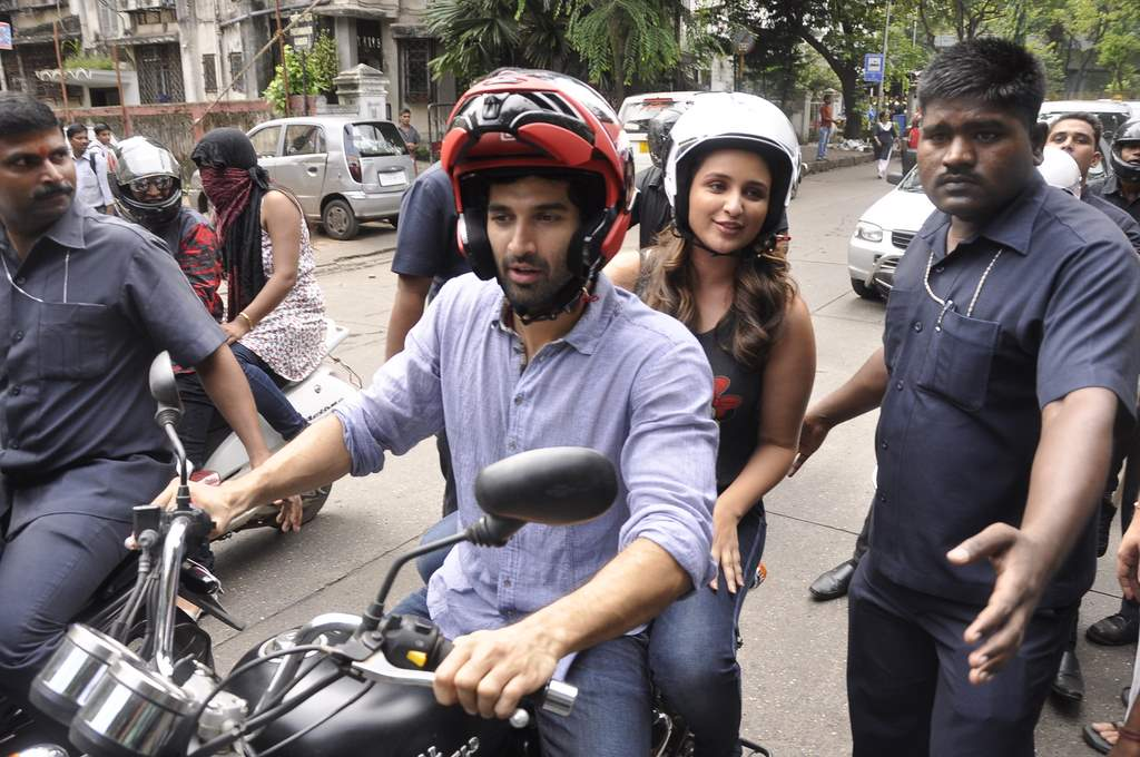 Aditya roy kapur and parineeti chopra