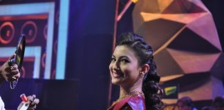Mika and Gauhar Khan on India's Raw Star sets