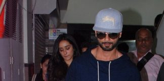Shraddha Kapoor and Shahid Kapoor promote Haider at Red FM