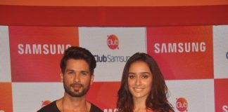 Shraddha Kapoor and Shahid Kapoor promote Haider with Samsung