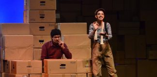 Kalki Koechlin and Richa Chadda on the sets of play 'Margarita With A Straw' – Photos